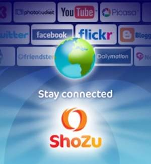 ShoZu transforms your mobile phone into a social netoworking hub