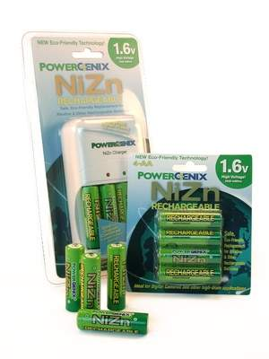 PowerGenix rechargeable batteries deliver power on par with disposable batteries--without the negative environmental impact.