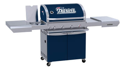 Team Grill is the Official BBQ Grill of the New England Patriots