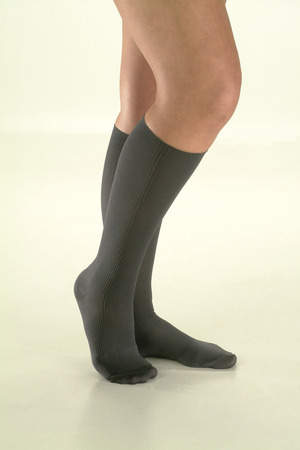 Ames Walker Travel Socks, black.