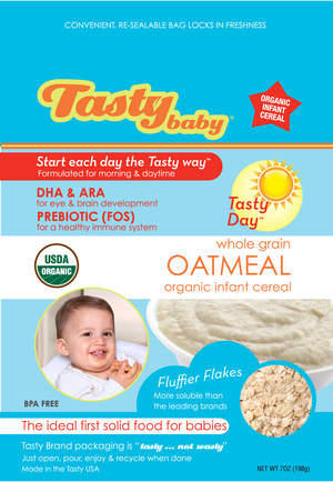 Tastybaby® Organic Infant Cereal
