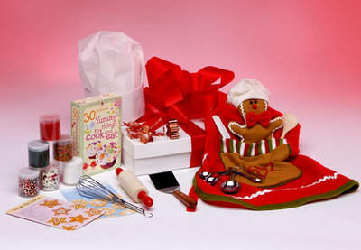 Holiday Cookie Baking Gift Box