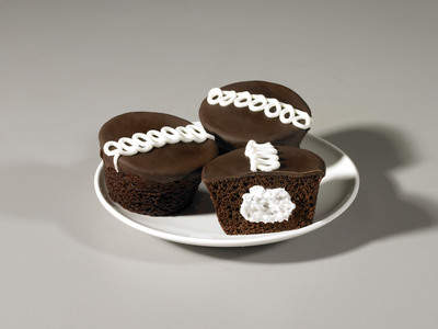 Cupcake fans, here's a treat to try! Little Debbie Chocolate Cupcakes are at major groceries and discount centers.