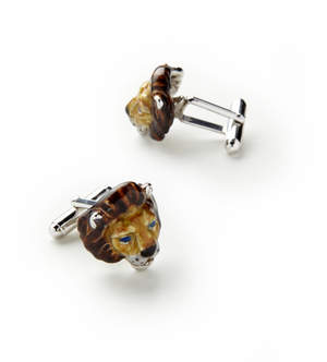 Jan Leslie Lion Cufflinks