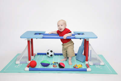 First Toddle 5-in-1 Infant/Toddler Play, Entertainment and Development System