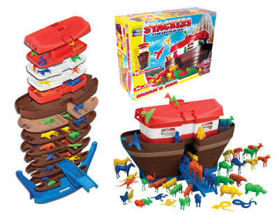 Stackers' Noah's Ark by Tier Toys