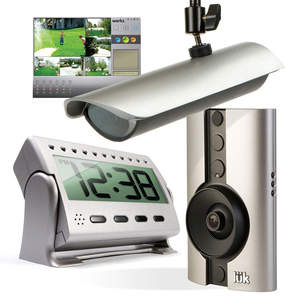 The Logitech Digital Video Security (DVS) System comes in both indoor and outdoor system options