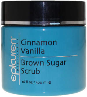 Cinnamon Vanilla Brown Sugar Scrub
