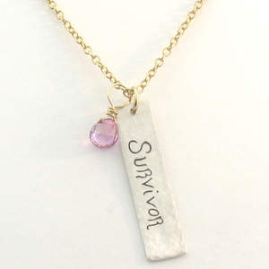 IsabelleGraceJewelry.com Survivor Necklace