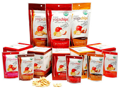 Yogavive Apple Chips in all 5 flavors