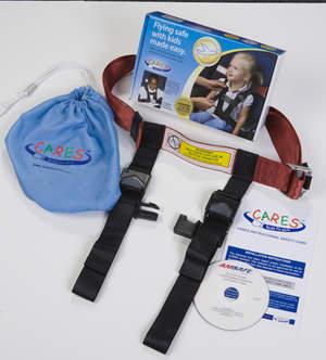 CARES - CHILD AVIATION RESTRAINT SYSTEM by Kids Fly Safe