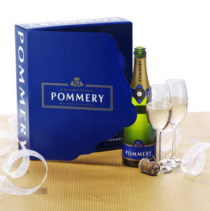 Champagne Pommery Brut Royal NV Gift Box