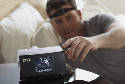Zeo monitors your REM, deep & light sleep