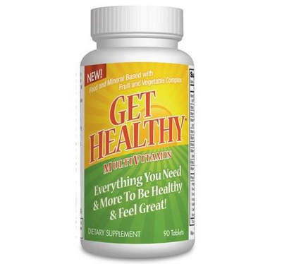 Get Healthy MultiVitamin with Everything You Need and More!