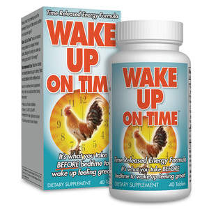 The Alarm Clock in a Pill!