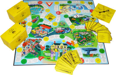 Play It Safe Board Game
