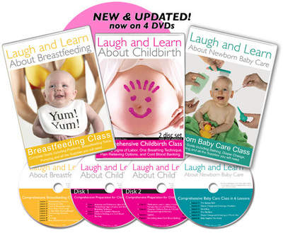 Laugh and Learn is your go to guide for expecting parents everywhere!