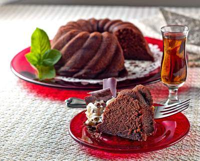 Elegant Amaretto-Laced Chocolate Cake Will Wow Your Holiday Guests
