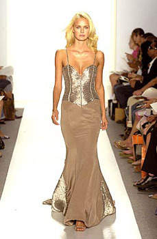 Silver Gooddess Dress- New York Fashion Week 2006