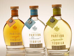 Partida Tequila Anejo, Blanco and Reposado