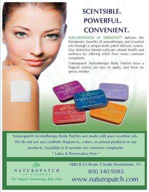 Aromatherapy/Therapeutic essential oil body patch