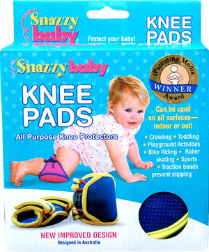 Snazzy Baby Knee Pads - Ages 4 mo. to 4 yrs.