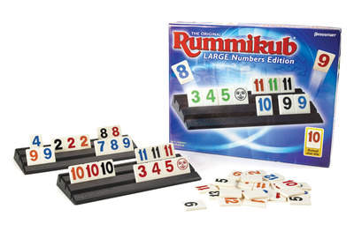 The Original Rummikub® Large Numbers Edition