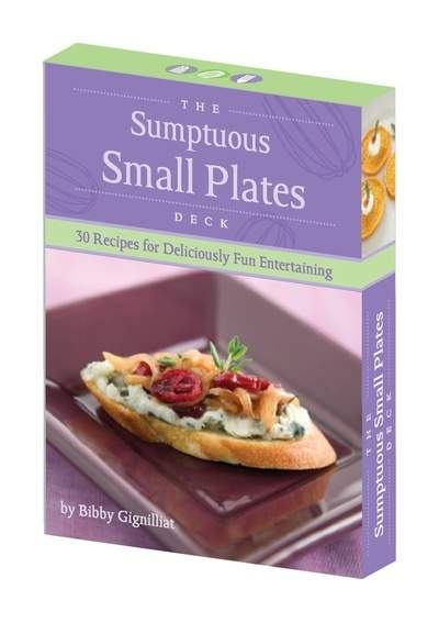 Parties That Cook's Sumptuous Small Plates Recipe Card Deck