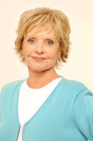 Florence Henderson, spokeswoman for The FLOH CLUB