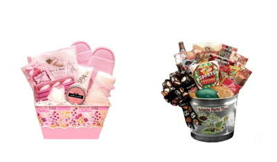Perfectly Pampered: Spa Basket and the Tailgate Party Time Gift Tin