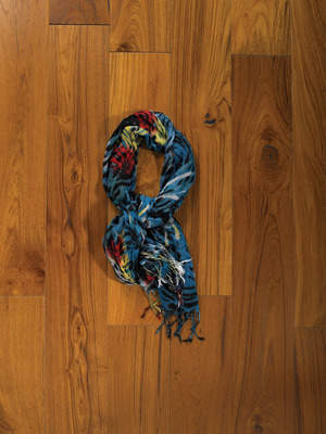 Roxy Escapade Scarf in Sea Green