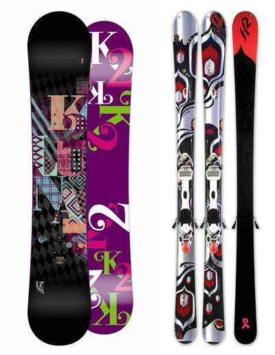 K2 Snowboarding and K2 Skis