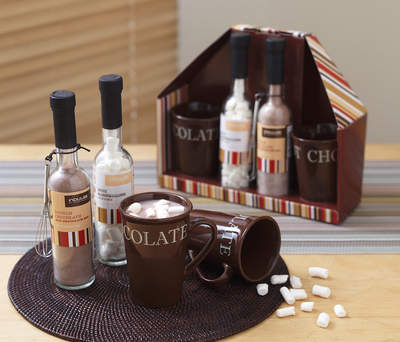 Anna's Linens Hot Chocolate Set