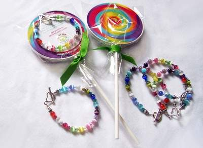Lollipop Lane Bracelet that gives back to children with autism.