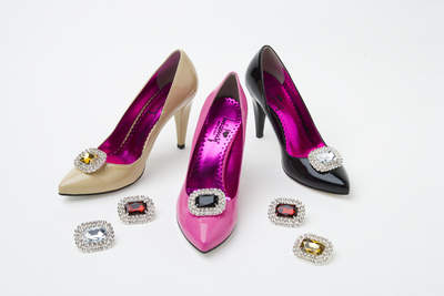 Absolutely Audrey Shoe Clips for Your Shoes