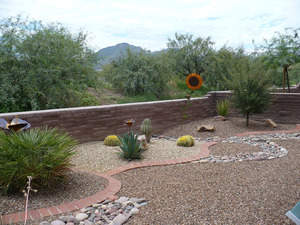 Tubac Writers Retreat garden