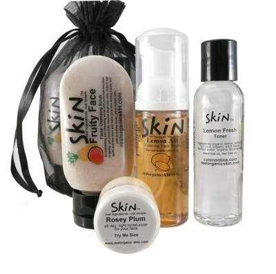 Skin's Fruity Face Kit - A super fruity set of organic fun for your face!
