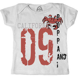Poppa and I Crabby Cali Infant/Toddler T-shirt