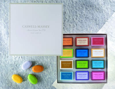 Caswell-Massey's Twelve Piece Assorted Guest Soap Sampler