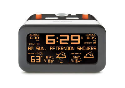 Ambient Devices: Flurry Alarm Clock with Weather Forecast