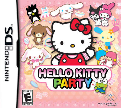 Hello Kitty Party box front