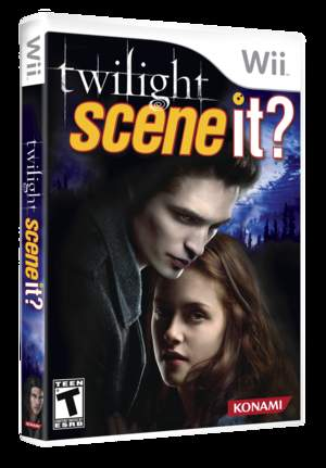 Scene It? Twilight for Wii box art