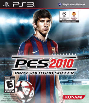Pro Evolution Soccer 2010 PS3 Version