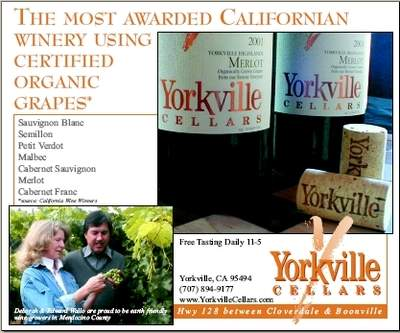 Yorkville Cellars Holiday Boxed Set of Six Bordeaux Varietals from California