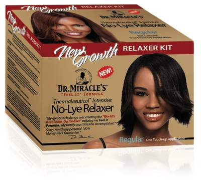 Thermalceutical Intensive New Growth No-Lye Relaxer Kit