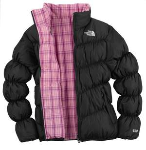 North Face Reversible Down MoonKitty Jacket