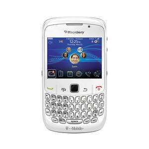 BlackBerry Curve 8520 smartphone in White