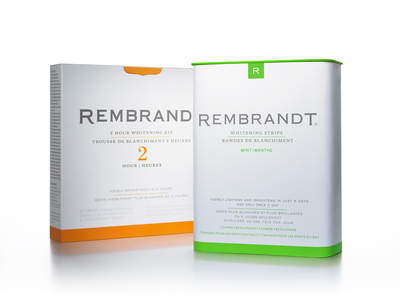 Rembrandt 2-Hour Whitening Kit & Rembrandt Whitening Strips