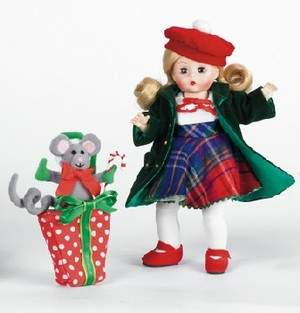 Madame Alexander's Yuletide Shopper doll