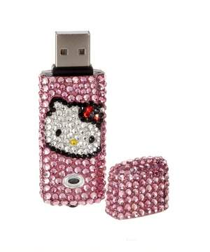 Hello Kitty Crystal 2GB USB Drive
